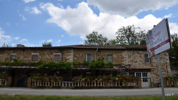 Restaurant Ardèche Camp Romain