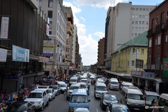 Johannesburg - Afrique du Sud rues