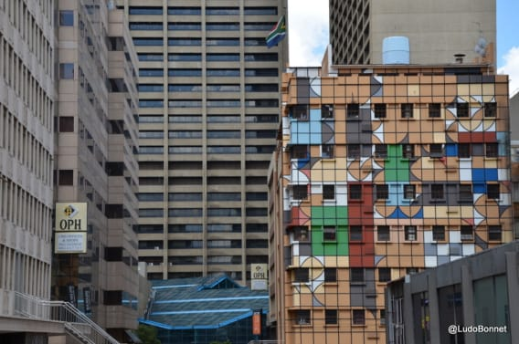 Johannesburg - Afrique du Sud immeubles