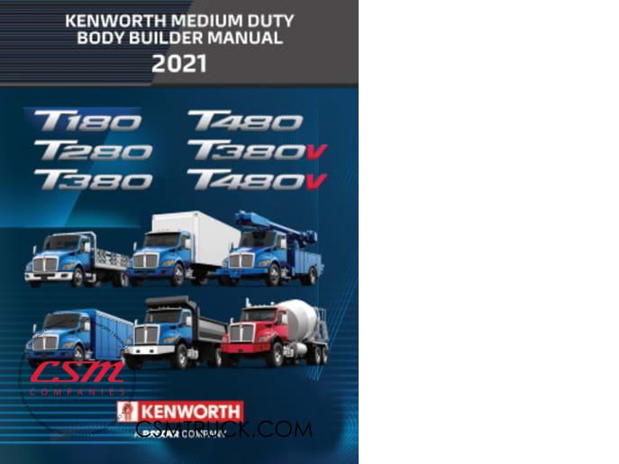 Kenworth Introduces 2021 Medium Duty Body Builder Manual