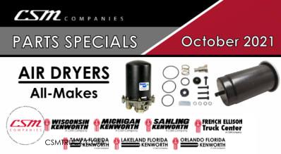 October 2021 Parts Specials-Air Dryers