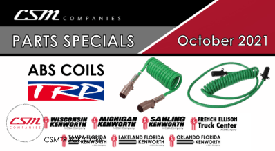 October 2021 Parts Specials-ABS Electrical Coils