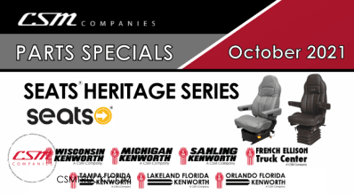 October 2021 Parts Specials-Heritage Series by Seats