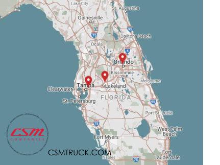 CSM Acquires Three Kenworth Locations in Florida