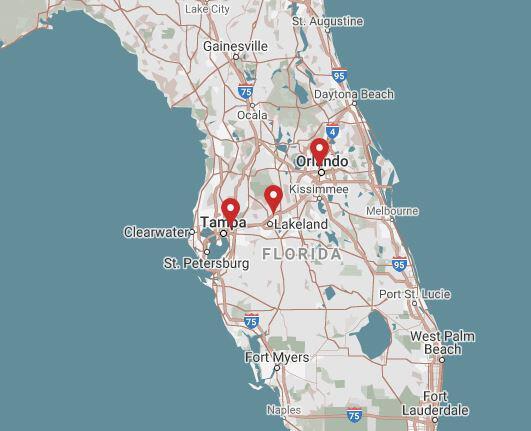 CSM Acquires Three Locations in Florida
