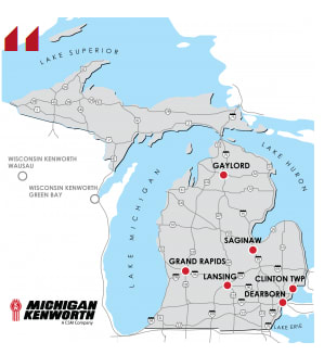 Michigan Kenworth Expands to Cover All of Michigan
