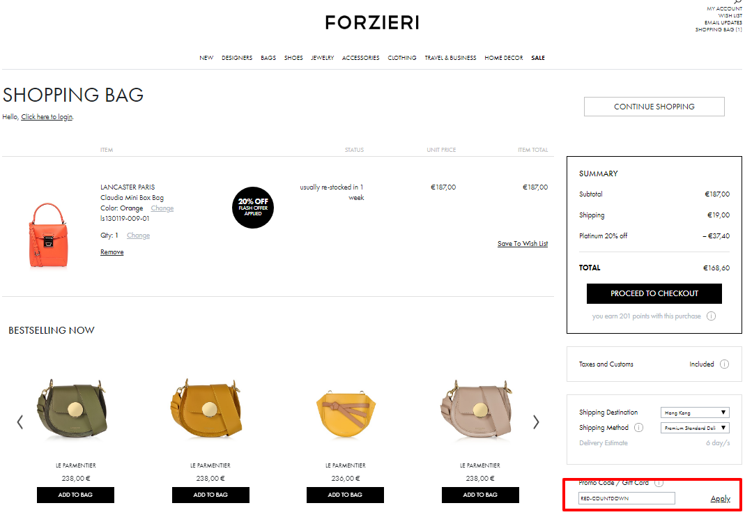Use Frozieri Coupon Codes