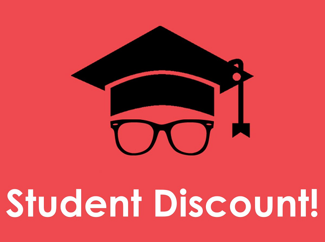 Student Special Discount Coupons