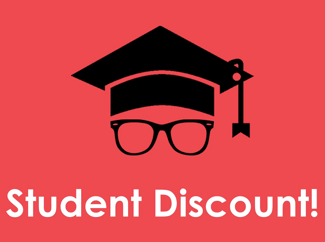Student Discount Coupons