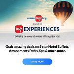 MakeMyTrip Coupon Codes & Deals