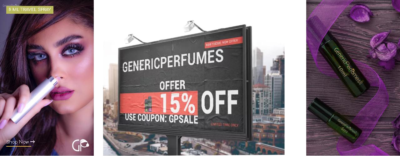 Use Generic Perfumes Coupon Code