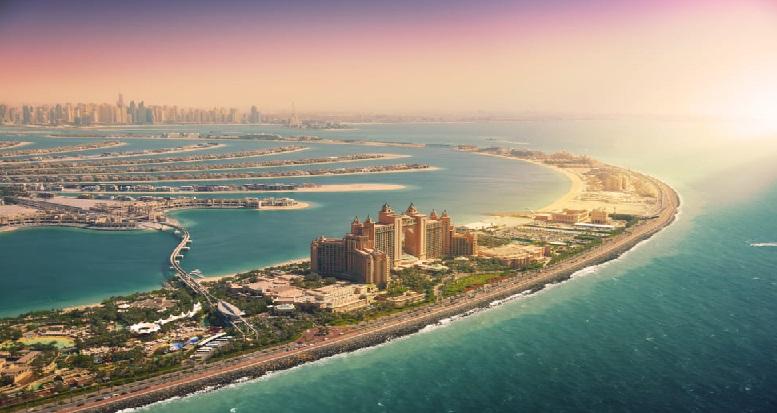 اتلانتس دبي جزيرة النخلة