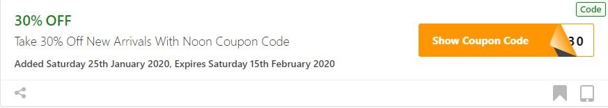 Get Noon Coupon Code