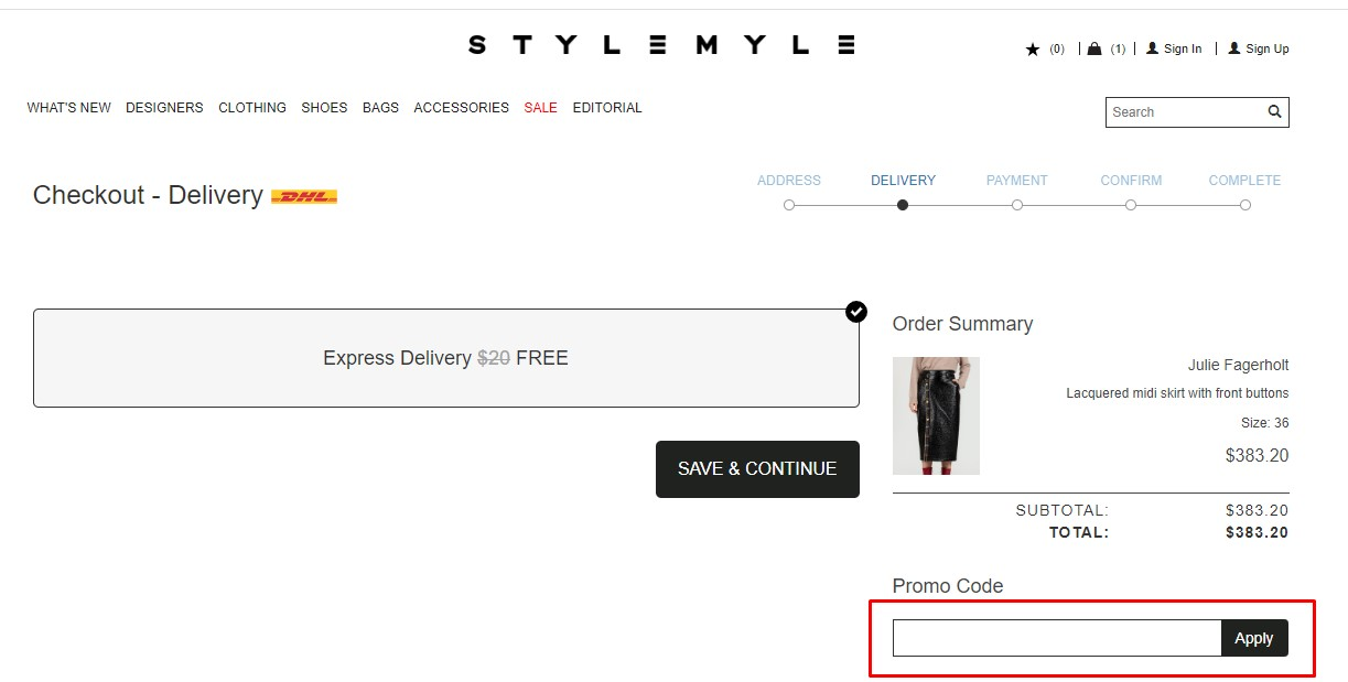 Use Stylemyle Discount Codes