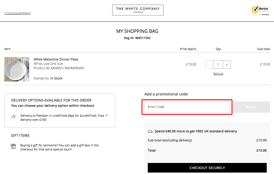 Use The White Company Coupon Code