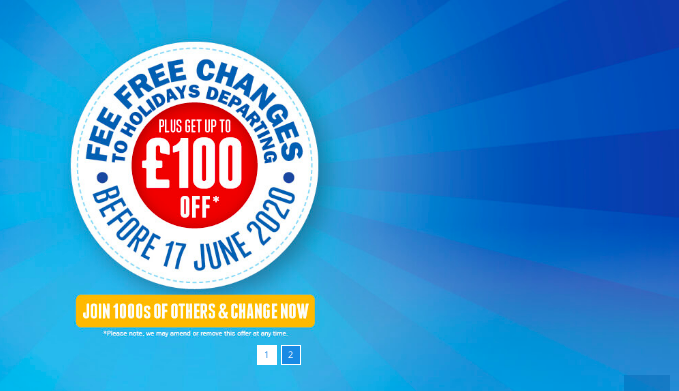 Jet2Holidays Offers Fee Free Changes