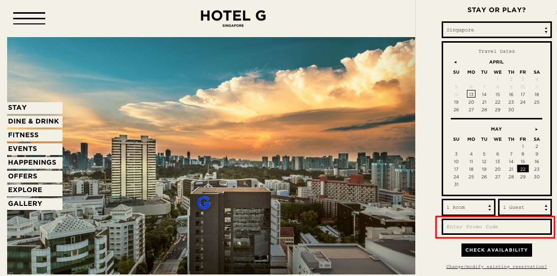 Use Hotels G Coupon Code