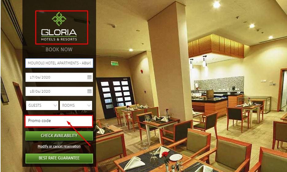 Use Gloria Hotels Discount Code