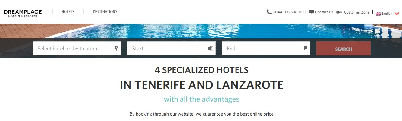 Use Dream Place Hotels and Resorts Discount Code
