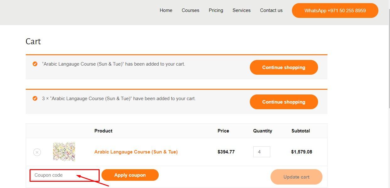 Use Mezan Institute Discount Code