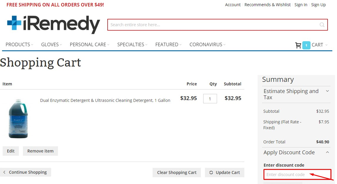 Use Iremedy Supply Discount Code