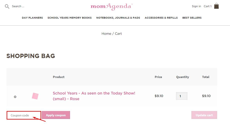 Use Momagenda Discount Code