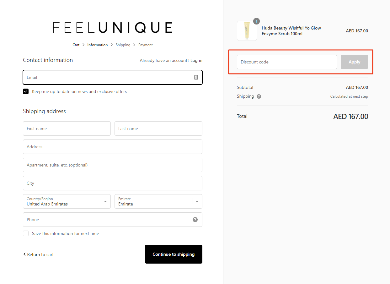 Use Feelunique Coupon Code
