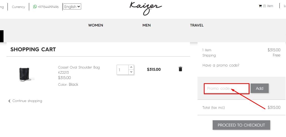 Use Kaizer Coupon Code