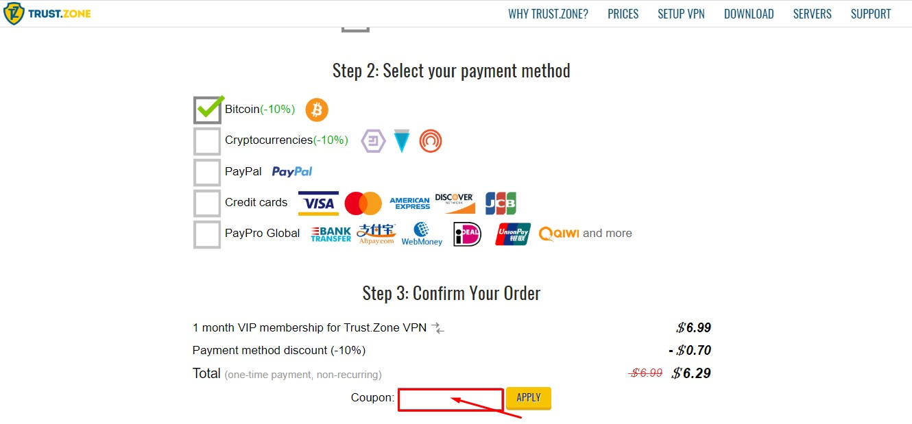 Use Trust Zone Coupon Code