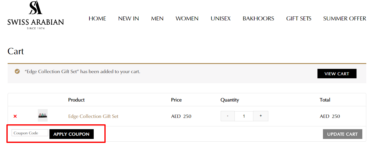 Use Swiss Arabian Coupon Code