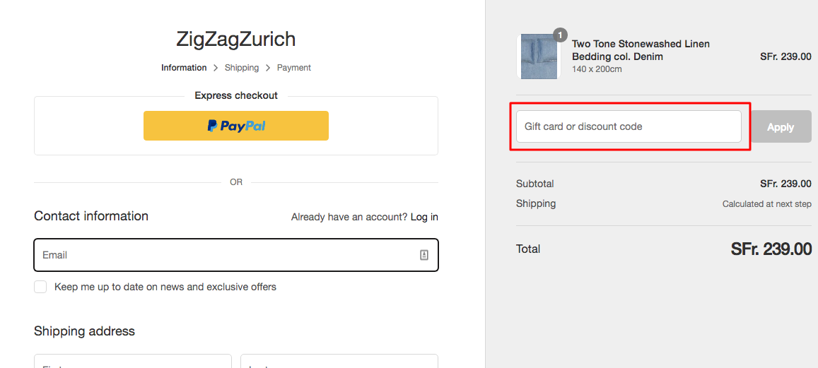 Use Zigzag Zurich Coupon Code