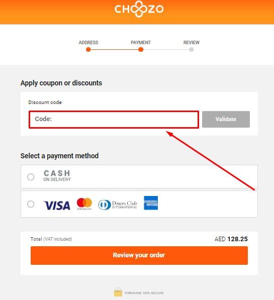 Copy Choozo Discount Code