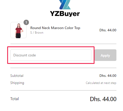 Use YZBuyer Coupon Code
