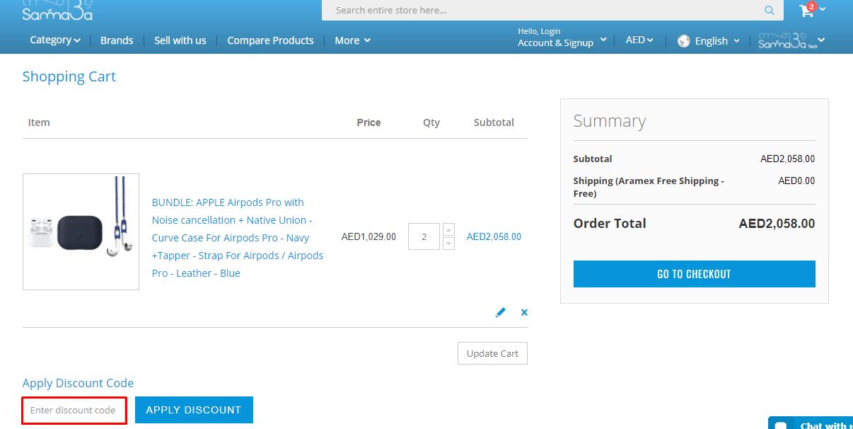 Use Samma3a Discount Code