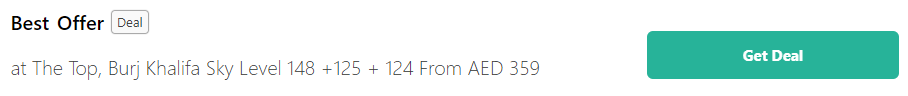Get Burj Khalifa Coupon Codes