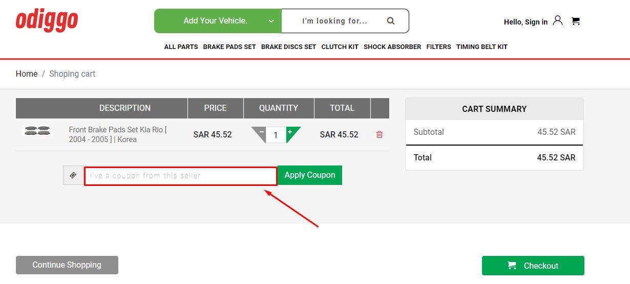 Use Odiggo Discount Code