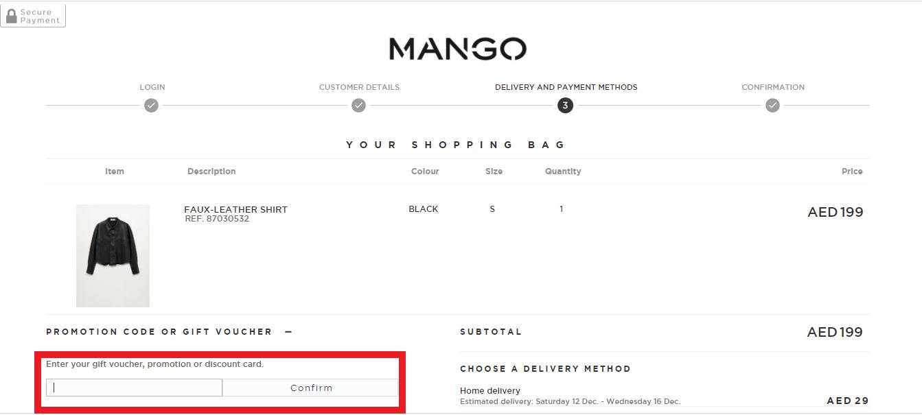 Copy Mango Coupon Code