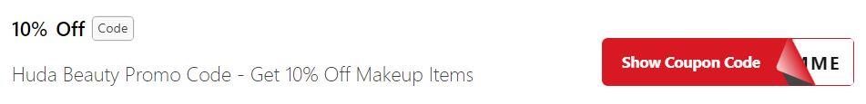 Get Huda Beauty Coupon Codes