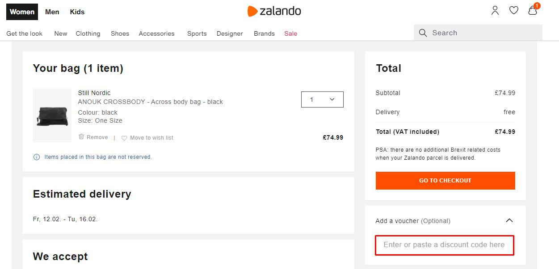 Use Zalando Discount Code