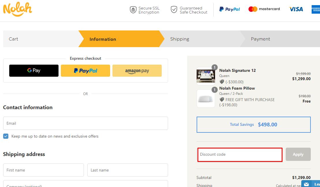 Use Nolah Mattress Discount Code