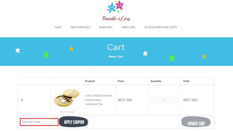 Use Bundle Of Joy Discount Code