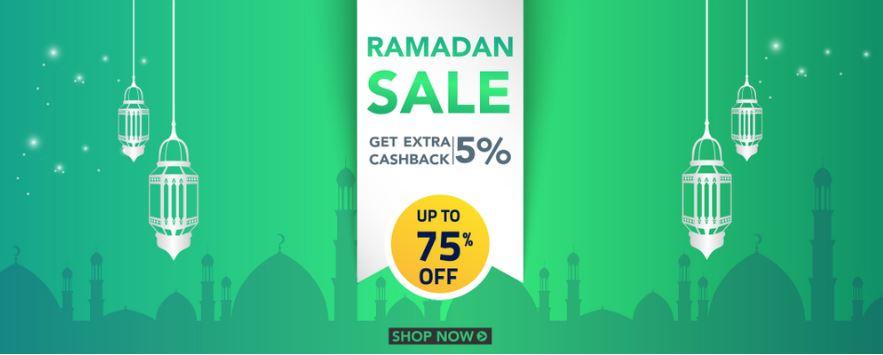 خصومات وتنزيلات شهر رمضان حتى 80% من فاوتشر كودز الإمارات