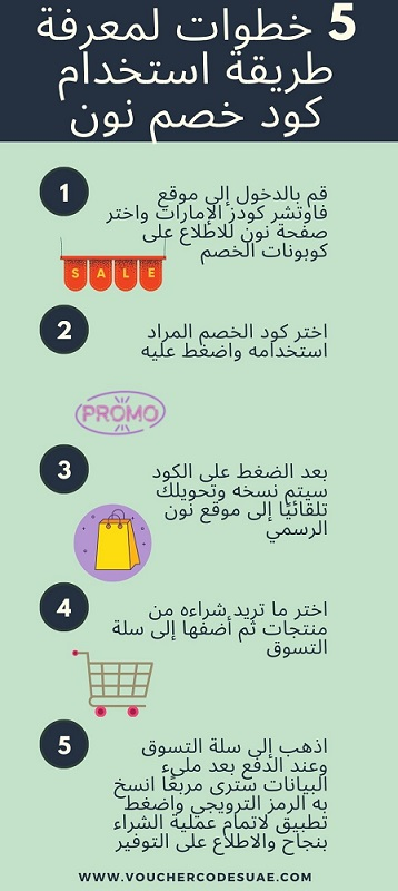 How to use Noon discount code طريقة استخدام كود خصم نون