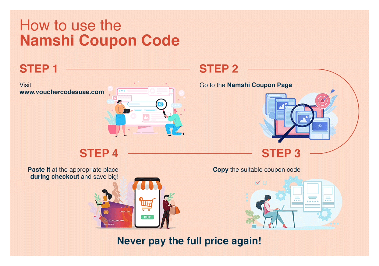 How to use the Namshi promo code