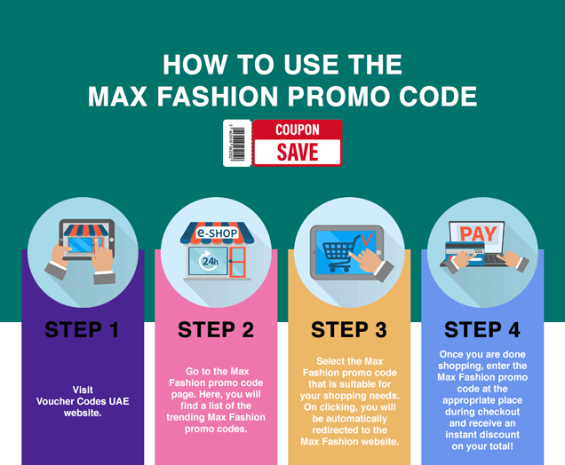 Max Fashion promo code