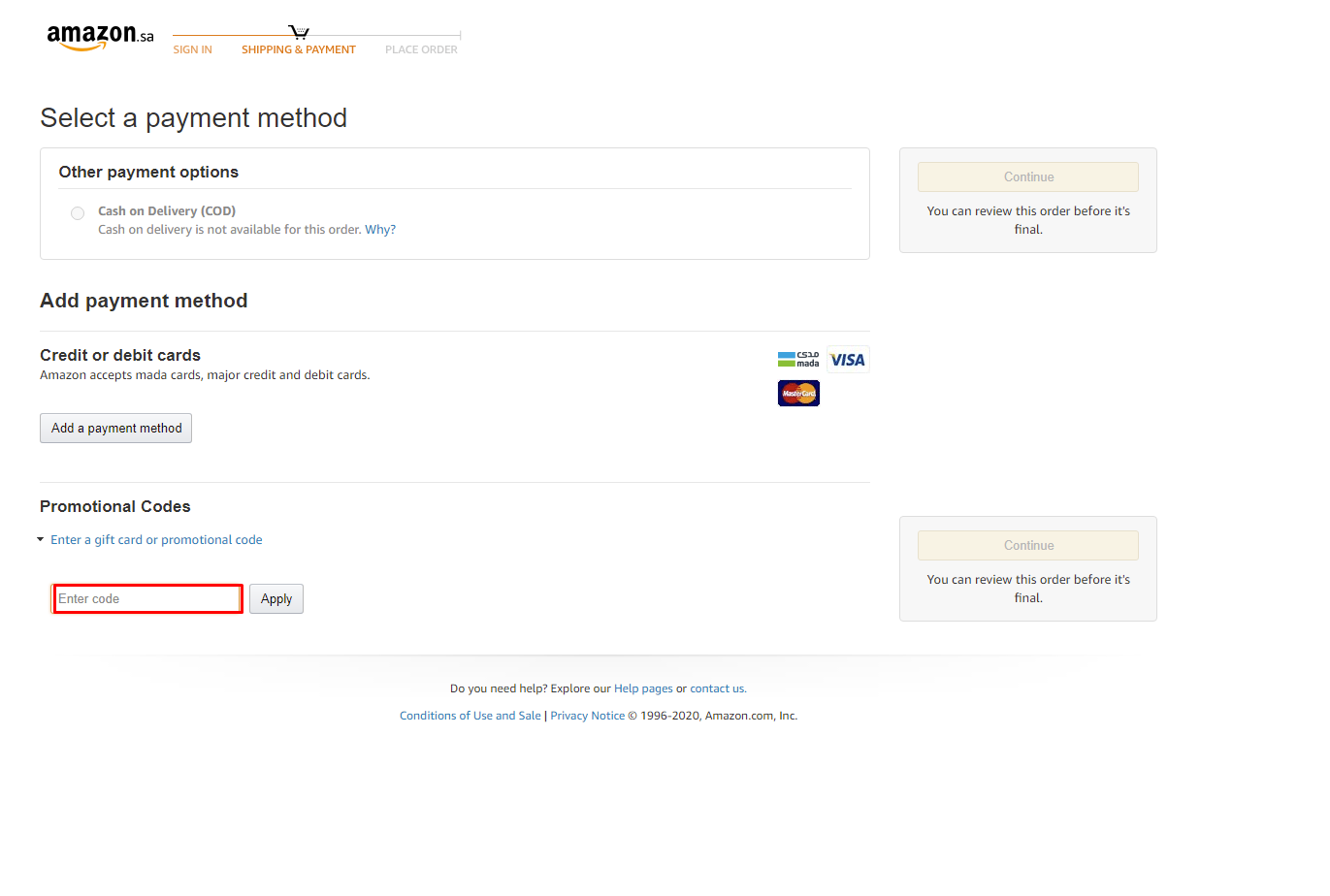 Use Amazon KSA Discount Code