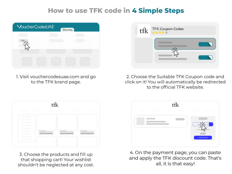 TFK Coupon Code