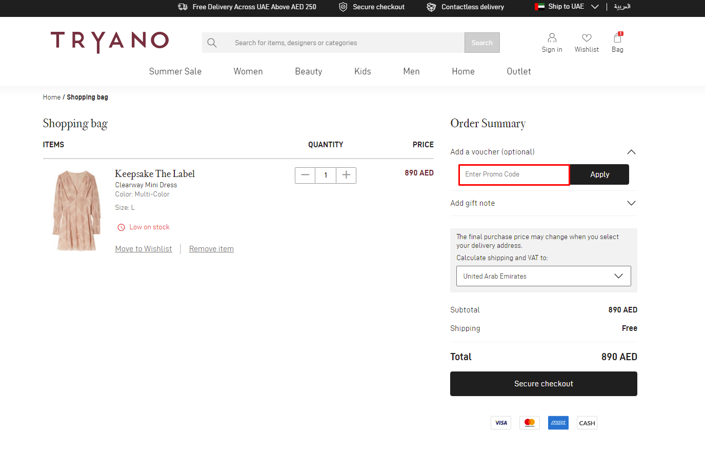 Use Tryano Discount Code