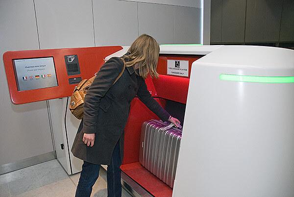 Baggage Counter at Emirates