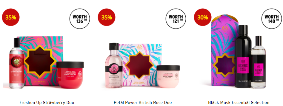 the body shop offers